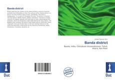 Portada del libro de Banda district