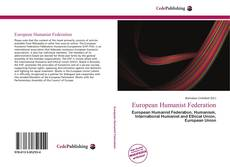 Bookcover of European Humanist Federation