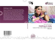 Portada del libro de Clothing in India