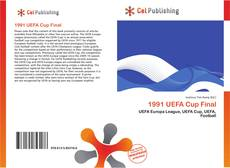 Bookcover of 1991 UEFA Cup Final