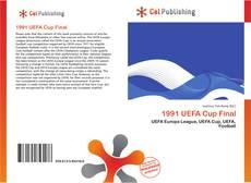 Portada del libro de 1991 UEFA Cup Final