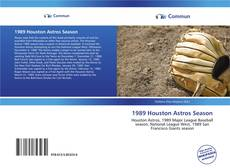 Bookcover of 1989 Houston Astros Season