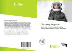 Bookcover of Discovery Program