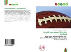 Jim Greenwood (Rugby Union) kitap kapağı