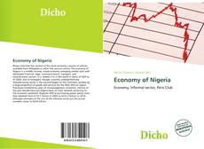 Bookcover of Economy of Nigeria