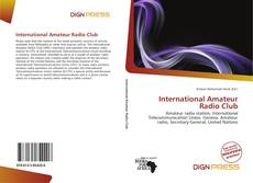 Buchcover von International Amateur Radio Club