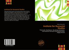 Capa do livro de Institute for Humanist Studies