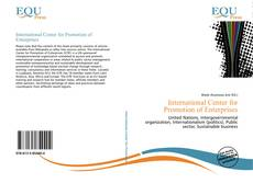 Bookcover of International Center for Promotion of Enterprises