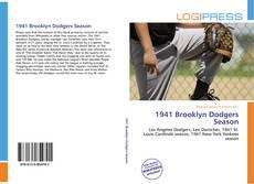 Bookcover of 1941 Brooklyn Dodgers Season