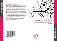 Bookcover of 2007 UEFA Cup Final