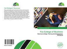Fox College of Business的封面