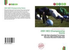 Обложка 2001 SEC Championship Game