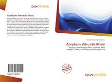 Abraham Yehudah Khein的封面