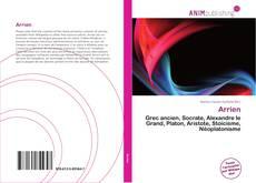 Capa do livro de Arrien