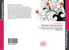Bookcover of Boston, County Clare