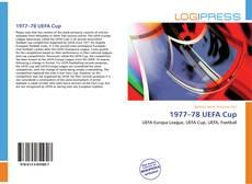 Portada del libro de 1977–78 UEFA Cup