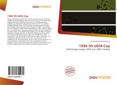 Bookcover of 1994–95 UEFA Cup