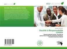 Bookcover of Société à Responsabilité Limitée