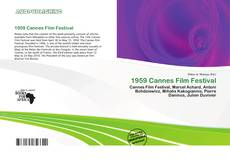 Bookcover of 1959 Cannes Film Festival