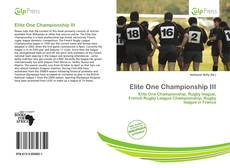Bookcover of Elite One Championship III