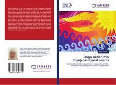 Copertina di Doğu Akdeniz'in biyojeokimyasal analizi