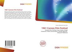 Bookcover of 1961 Cannes Film Festival