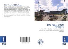Portada del libro de Elite Panel of ICC Referees