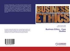 Обложка Business Ethics - Case Studies