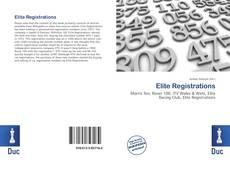 Bookcover of Elite Registrations