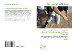 Обложка 1940 Philadelphia Phillies Season