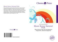 Couverture de Mount Kenya National Park