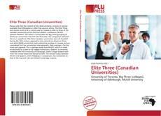 Copertina di Elite Three (Canadian Universities)