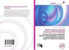 Bookcover of Best Actress Award (Cannes Film Festival)