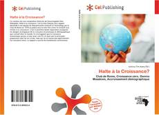 Portada del libro de Halte à la Croissance?