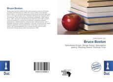 Buchcover von Bruce Boston