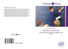 Bookcover of Damascus University
