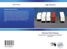Capa do livro de Classical Test Theory