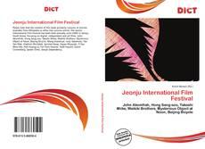 Bookcover of Jeonju International Film Festival
