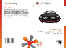 Bookcover of Ford Taunus
