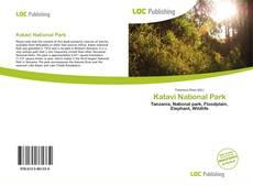 Bookcover of Katavi National Park
