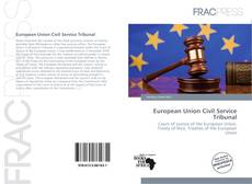 Portada del libro de European Union Civil Service Tribunal