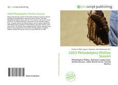 Borítókép a  2003 Philadelphia Phillies Season - hoz