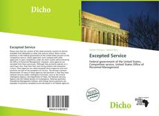 Bookcover of Excepted Service