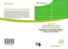 Обложка 2009 BNP Paribas Primrose Bordeaux