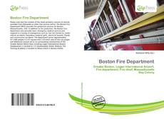 Bookcover of Boston Fire Department