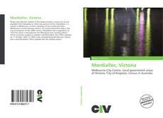 Bookcover of Mordialloc, Victoria