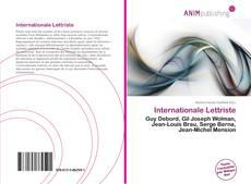Internationale Lettriste kitap kapağı