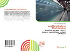 Bookcover of Auckland Railway Electrification