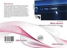 Bookcover of Meta element