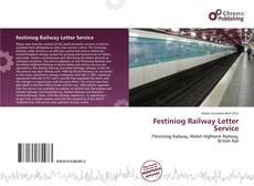 Buchcover von Festiniog Railway Letter Service